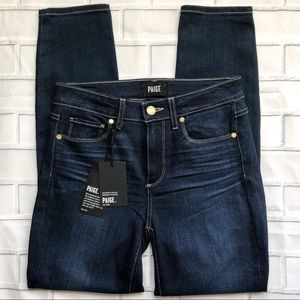 NWT Paige Hoxton High Rise Skinny Ankle Jeans